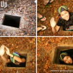 Crawling through the Cu Chi Tunnels