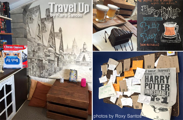 the nook harry potter inspired cafe maginhawa