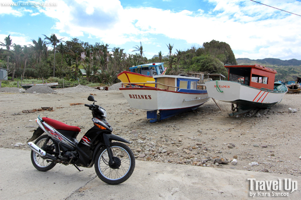 mahatao shelter port batanes boats motorcycle