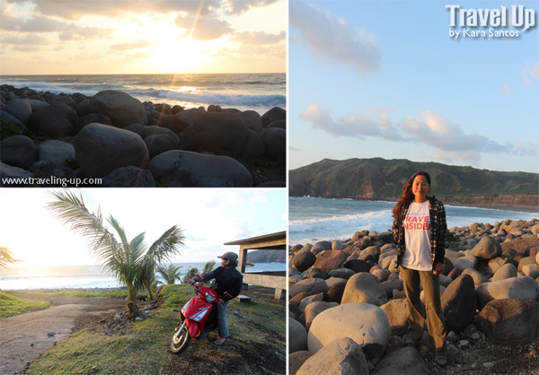 valugan boulder beach batanes motorcycle