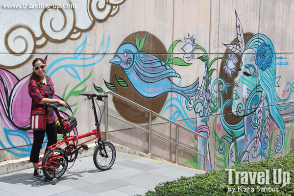 Vaude hiking and biking backpacks in manila travel up for Bonifacio mural