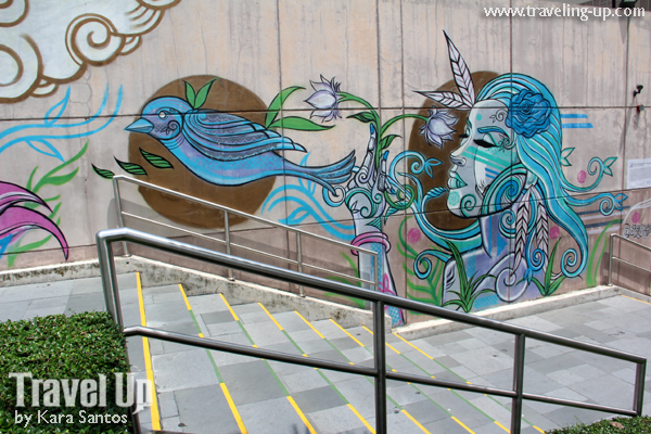 Art in the city murals in bgc travel up for 4 seasons mural
