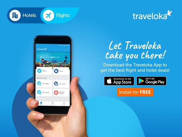 traveloka app install ad – Travel Up